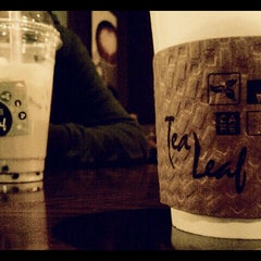 Photo taken at Tea Leaf Cafe by chris w. on 12/30/2011