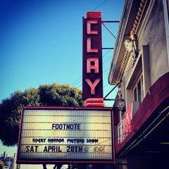 Photo taken at Clay Theatre by Gus D. on 4/5/2012