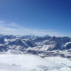 Photo taken at Matterhorn Glacier Paradise by Sven v. on 3/31/2012