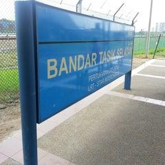 Photo taken at KTM Line - Bandar Tasik Selatan Station (KB04) by Shahril I. on 8/22/2012