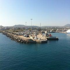 Photo taken at Λιμάνι Ηρακλείου by Giorgos T. on 5/5/2012