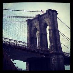 Photo taken at Under The Brooklyn Bridge by David H. on 4/16/2012