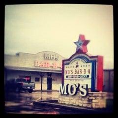 Photo taken at Mo's BBQ by Kitron F. on 7/1/2012
