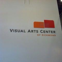 Photo taken at Visual Arts Center of Richmond by Olanrewaju A. on 8/21/2012