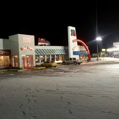 Photo taken at TravelCenters of America by Ethan M. on 2/26/2012