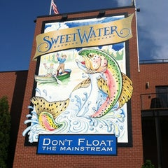 Photo taken at SweetWater Brewing Company by Mike P. on 7/9/2012