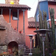 Photo taken at La casa del corregidor by Kim B. on 7/7/2012