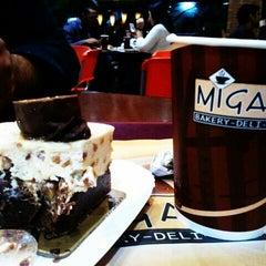 Photo taken at Miga's by @srmolesto on 2/19/2012