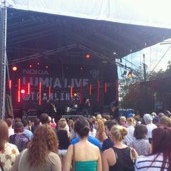 Photo taken at Devonshire Green by Sam C. on 7/22/2012