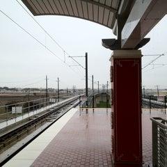 Photo taken at Royal Lane Station (DART Rail) by Aindriú M. on 3/10/2012