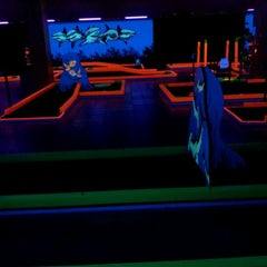 Photo taken at GLOWGOLF by Lidia K. on 5/13/2012
