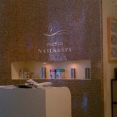 Photo taken at Ada Nails and Spa by Tinsel & Tine (. on 6/9/2012