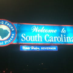 Photo taken at Georgia / South Carolina State Line by James T. on 6/28/2012