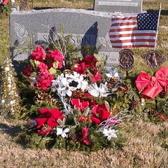 Photo taken at Immaculate Heart Cemetery by Donald S. K. on 12/19/2011
