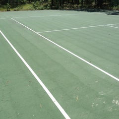 Photo taken at Harthaven Tennis Camp by Michal W. on 6/17/2012