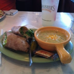 Photo taken at McAlister's Deli by Sally L. on 5/7/2012