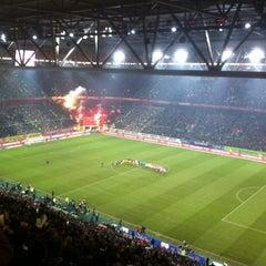 Photo taken at ESPRIT arena by Tobias M. on 2/13/2012