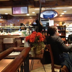 Photo taken at la Madeleine Country French Café by George A. on 4/18/2012