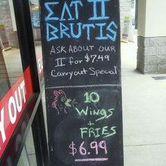 Photo taken at Pizza K by Linda V. on 9/20/2011