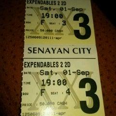Photo taken at Senayan City XXI by Siti J. on 9/1/2012