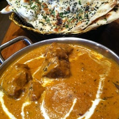 Photo taken at Brick Lane Curry House by Courtney W on 8/19/2012