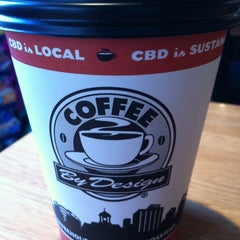 Photo taken at Coffee By Design by Kenny L. on 7/5/2011
