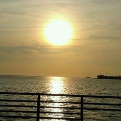Photo taken at Pantai Losari by Destya S. on 8/29/2011