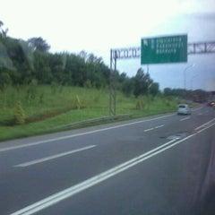 Photo taken at Jalan Tol Jakarta - Cikampek by Winarno B. on 1/22/2012