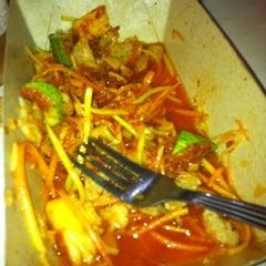 Photo taken at Mek T Restaurant by Sara A. on 10/21/2011