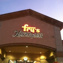 Photo taken at Fry's Marketplace by Renee P. on 12/29/2011