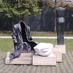 Photo taken at Minneapolis Sculpture Garden by Justine R. on 5/13/2012