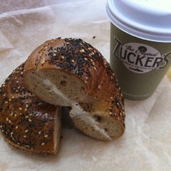 Photo taken at Zucker's Bagels and Smoked Fish by Jase on 12/22/2010