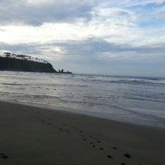 Photo taken at Playa de Barayo by Marcos P. on 8/14/2012