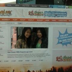 Photo taken at Indonesia Social Media Festival 2011 (SocMedFest) by RAHMA ✌ on 9/24/2011