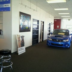 Photo taken at Fairfield Subaru (Service Center) by J. A. on 9/6/2011