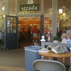 Photo taken at Caffe Strada by Stephany C. on 9/12/2011