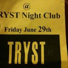 Photo taken at Tryst Nightclub by Dayana O. on 6/30/2012