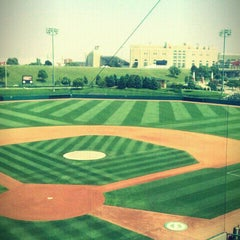 Photo taken at Hawks Field at Haymarket Park by Kevin R. on 6/7/2011