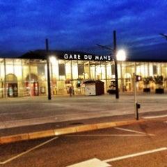 Photo taken at Gare SNCF du Mans by Luis S. on 6/17/2012