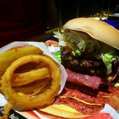 Photo taken at Fatburger by David H. on 4/17/2011
