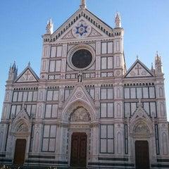Photo taken at Basilica di Santa Croce by shimerson on 1/1/2012