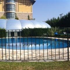 Photo taken at Hotel Villa de Laguardia by Patricia  on 8/11/2012