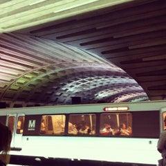 Photo taken at Metro Center Metro Station by Javier R. on 6/20/2012