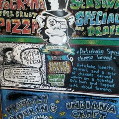 Photo taken at Jockamo Upper Crust Pizza by Kat S. on 6/30/2012
