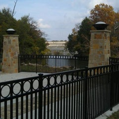 Photo taken at White Rock Lake Spillway by Jonathan O. on 11/14/2011