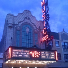 Photo taken at Music Box Theatre by Mario M. on 7/17/2011
