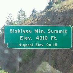 Photo taken at Siskiyou Summit by David C. on 8/4/2011