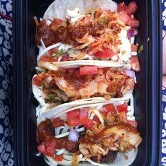 Photo taken at Korilla BBQ by Jadie O. on 7/26/2011