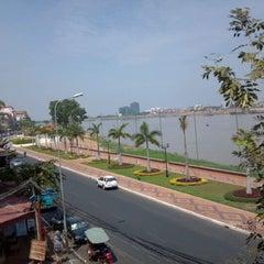 Photo taken at FCC Phnom Penh by Bob E. on 1/28/2012