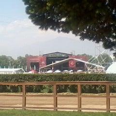 Photo taken at Club Hípico de Santiago by Alex Sebastian C. on 11/12/2011